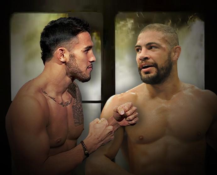 Carrossel UFC Brad x Leites_720 (Foto: Esporte Arte)