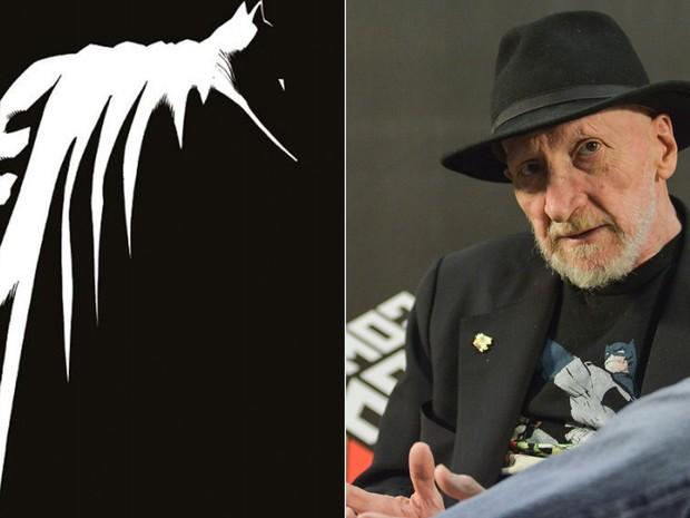 Frank Miller lança terceiro capítulo de sua saga 'Cavaleiro das trevas', do Batman (Foto: Montagem Divulgação/Panini e Cesar Soto/G1)