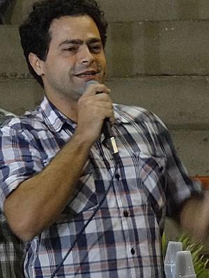 Rodrigo Cariri -- tutor do Mais Médicos em Pernambuco (Foto: Lorena Aquino / G1)
