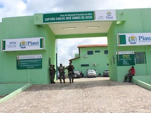 Casa de Detenção Provisória de Altos foi inaugurada nesta segunda-feira (11) (Foto: Gilcilene Araújo/G1)