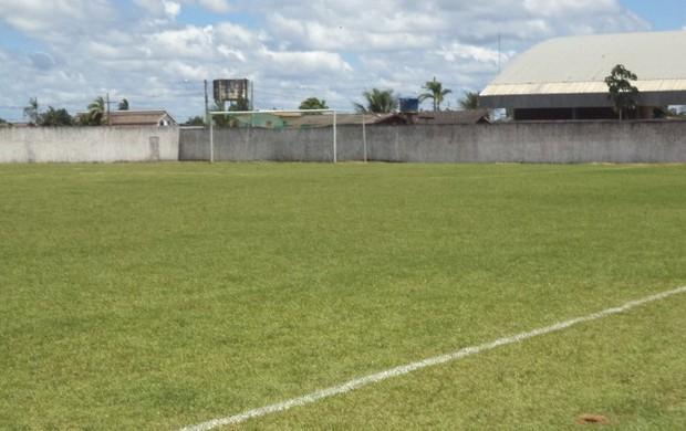 estádio Antônio Araújo Lopes em Epitaciolândia (Foto: João Carlos Passos/Arquivo pessoal)
