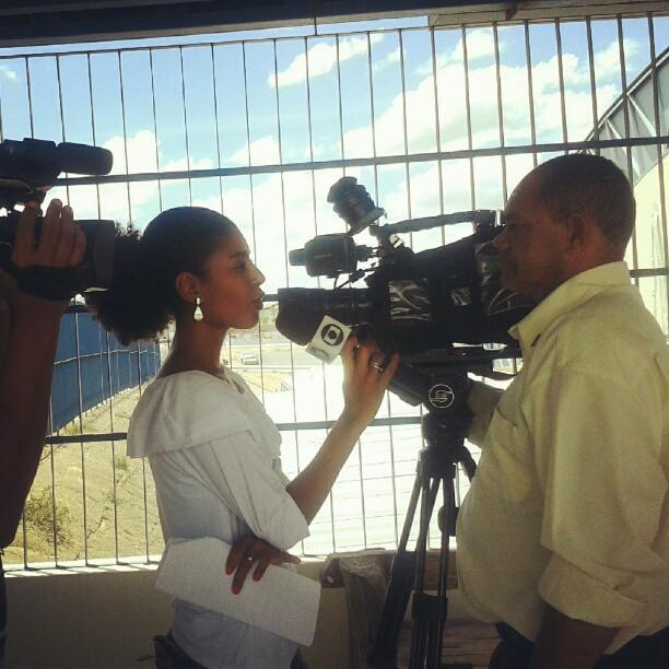 Anastácio Alves já deu entrevista para a repórter Illa Ribeiro (Foto: Arquivo Pessoal)
