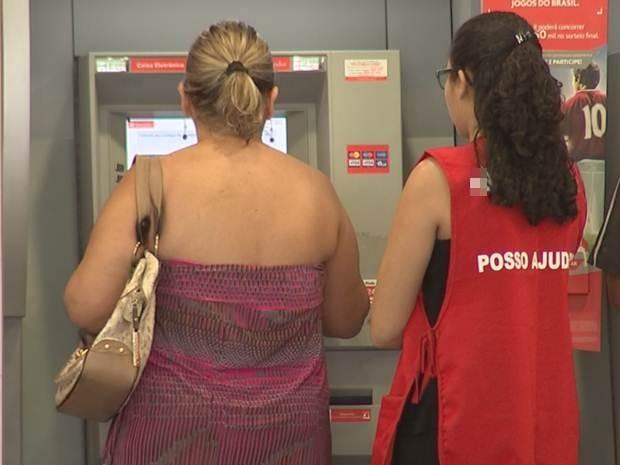 Lei pede que caixas automáticos tenham segurança 24 horas (Foto: Reprodução / TV TEM)
