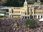 BH tem protestos contra e a favor do impeachment da presidente Dilma