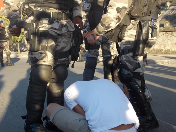 Equilíbrio emocional é desafio de policiais no dia a dia (Foto: Lilian Marques / G1)