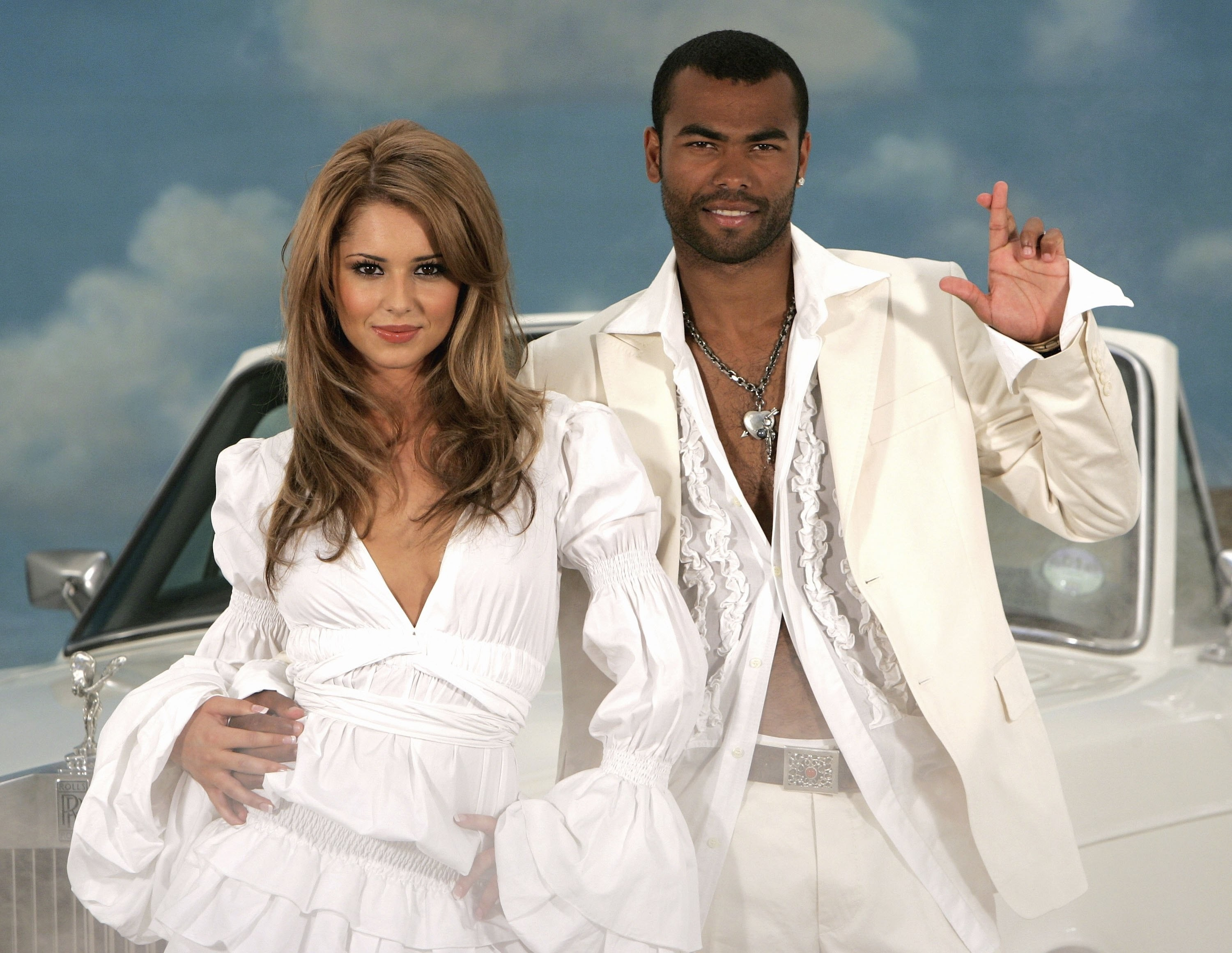 Cheryl Cole e Ashley Cole (Foto: Getty Images)
