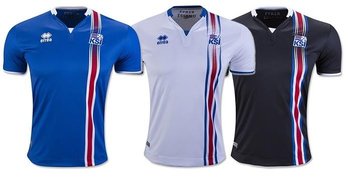 Camisas Eurocopa islandia