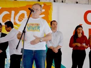 Lançamento da campanha de combate ao Crack Acre (Foto: Veriana Ribeiro / G1)