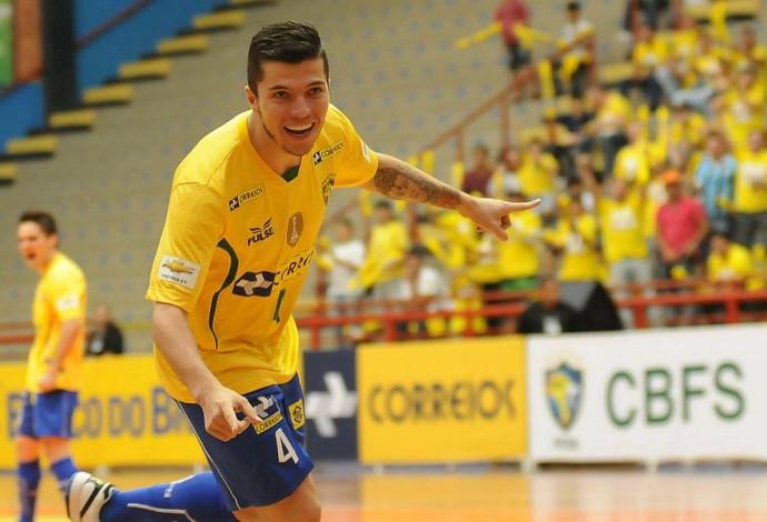 Jackson Brasil Colômbia Copa Intercontinental Futsal (Foto: Luciano Bergamaschi/CBFS)