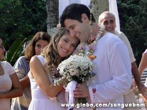 O casal achou que dessa vez seria diferente (Foto: Sangue Bom/TV Globo)