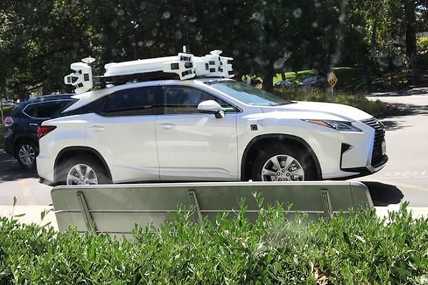Apple testa sistema de carro autônomo nos Estados Unidos (Foto: Reprodução / Twitter: @idiggapple)