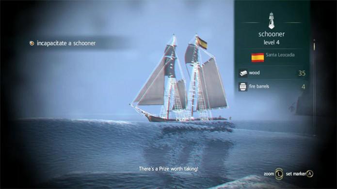 As escunas são as melhores embarcações para se atacar no começo (Foto: Reprodução)