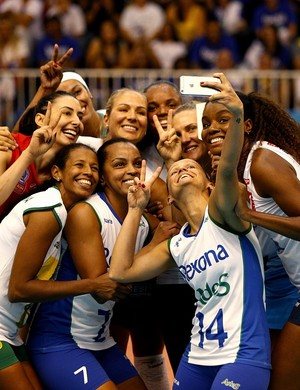 Selfie despedida da Fofão (Foto: Cinara Piccolo/Divulgação)
