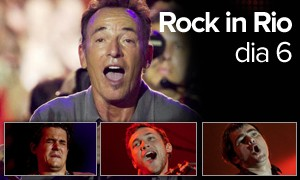 Bruce fez 'o' show; John Mayer foi o galã e Phillips, a revelação (Arte/G1)