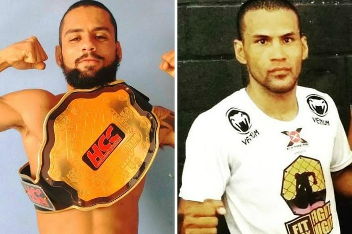 Hamyrez Oliveira disputa o cinturão peso-galo do The Start contra Edgard dos Anjos (Foto: Montagem/GE)