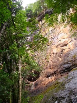 A segunda caverna descoberta chama-se Peráu Branco e fica na comunidade da Prata (Foto: Miguel Burei/ Arquivo pessoal)