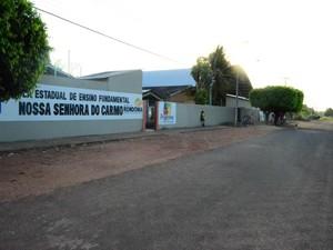 Escola (Foto: Magda Oliveira/G1)