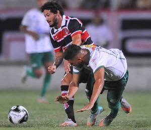 Santa Cruz x América-PE (Foto: Aldo Carneiro / Pernambuco Press)