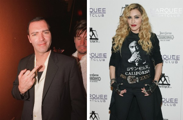 Chris Ciccone e sua irmã, Madonna (Foto: Getty Images)