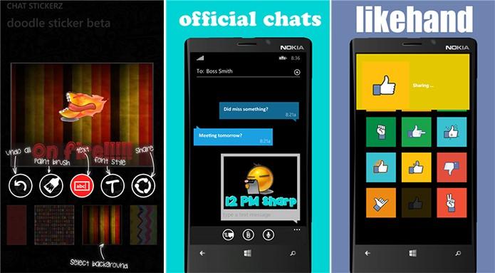 Chat Stickerz é um aplicativo para Windows Phone que cria adesivos personalizados (Foto: Divulgação/Windows Phone Store)