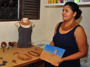 Peças de couro serão o destaque nesta edição do Salão do Artesanato em Campina Grande. (Foto: Walter Rafael/divulgação)