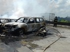 Uma pessoa morre em acidente com nove carros e três motos na BR-232