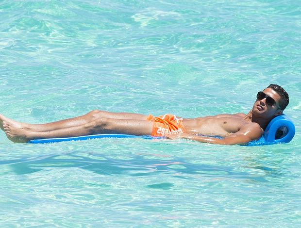 Cristiano Ronaldo férias filho Bahamas