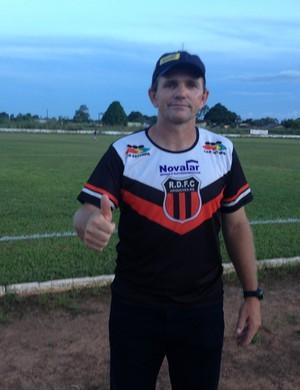 Técnico do Real, PC Schardong (Foto: Júnior Freitas)