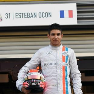 Francês Esteban Ocon estreia pela Manor neste fim de semana (Foto: Divulgação)