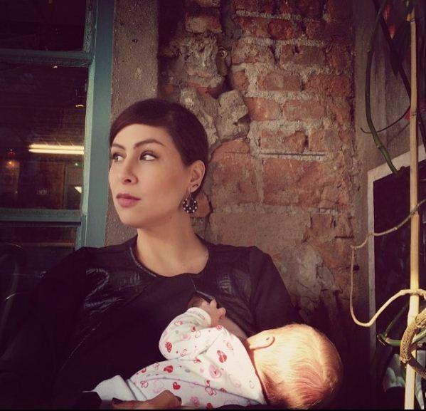 Pitty costumava postar fotos de Madalena amamentando (Foto: Reprodução/Instagram)