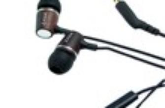 Fones de ouvido Earbud Woodphone ES-220 da Zagg
