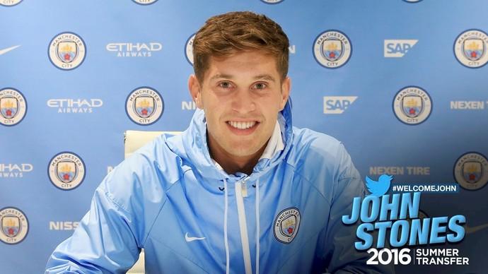 John Stones assina pelo Manchester City — OFICIAL