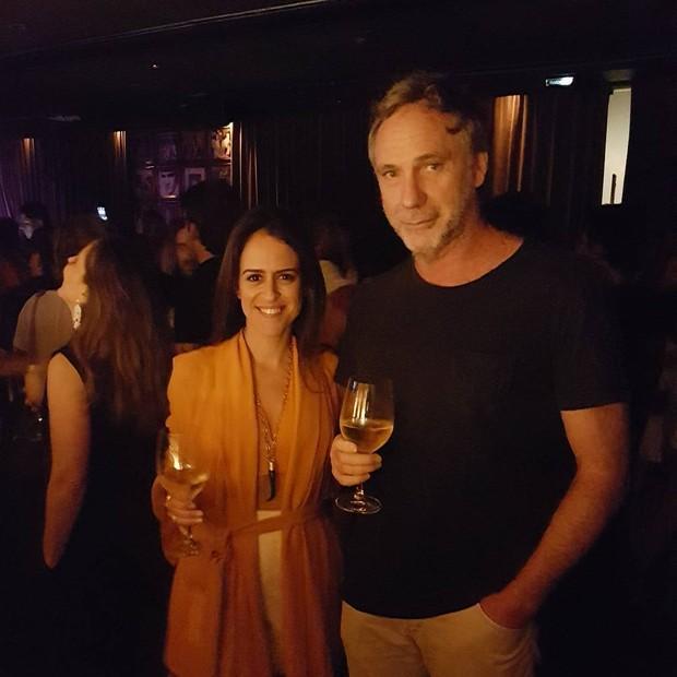 Paula Bezerra de Mello e Oskar Metzavat (Foto: reprodução/Instagram)