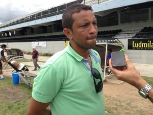 Chiquinho comentarista da Globo (Foto: Lafaete Vaz / GloboEsporte.com)