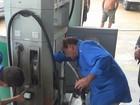 Ipem realiza fiscalização em postos de combustíveis na orla de Manaus