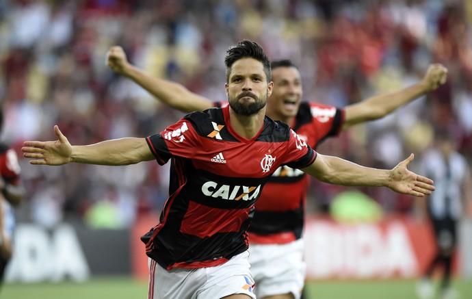 diego flamengo santos (Foto: André Durão / GloboEsporte.com)