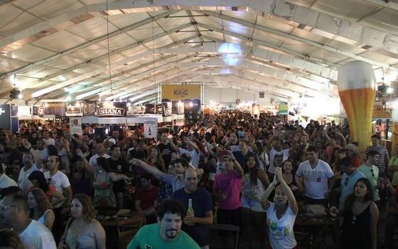 A edição passada do Mondial de la Bière no Rio recebeu 48 mil pessoas (Foto: Divulgação)