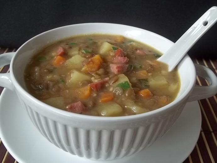 Sopa de Lentilha (Foto: Gshow)