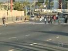 Manifestantes bloqueiam rodovias em protesto contra lei da terceirização