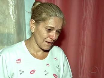 Sílvia Cazado, mãe de Isabella Cazado (Foto: Reprodução/TVCA)