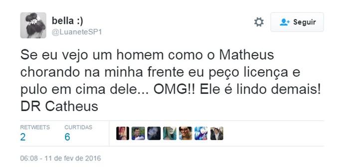 DR Catheus Twitter (Foto: Reprodução/Internet)