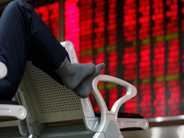 Em Xangai, o índice SSEC ganhou 3,32%, a 2.837 pontos. (Foto: Reuters)