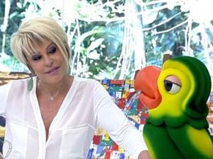 Ana Maria Braga e Louro José no Mais Você (Foto: Divulgação   Rede Globo)