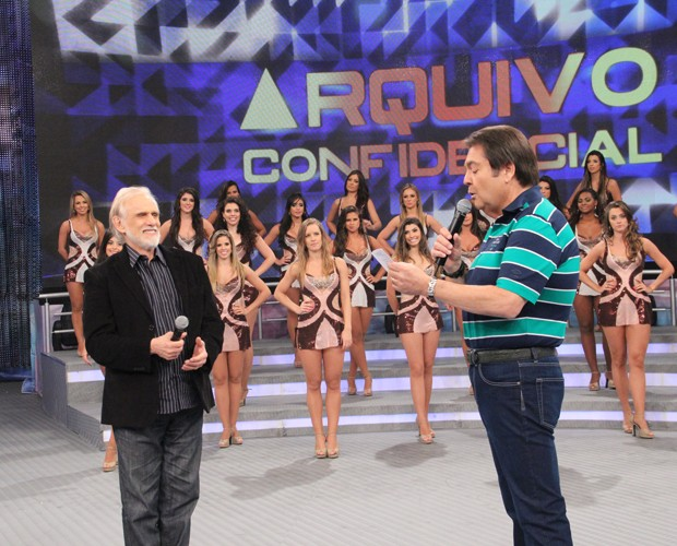 Francisco Cuoco (Foto: Domingão do Faustão / TV Globo)