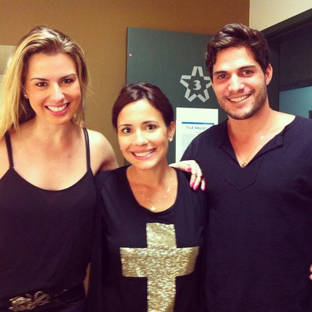 Fernanda, Juliana Knust e André (Foto: Instagram/ Reprodução)
