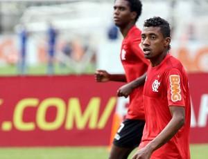 Kleberson no treino do Flamengo (Foto: Cezar Loureiro / Agência o Globo)