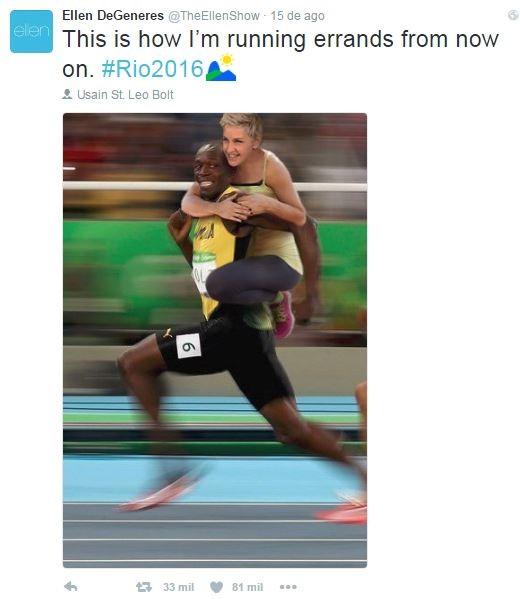 Ellen DeGeneres no Twitter (Foto: Reprodução / Twitter)