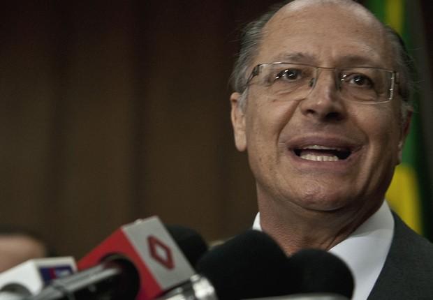 O governador de São Paulo, Geraldo Alckmin (Foto: Agência Brasil/Arquivo)