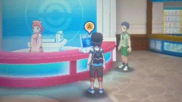 Pokémon Sun e Moon: resgate os monstros depositados no Pokémon Center (Foto: Reprodução / Thomas Schulze)