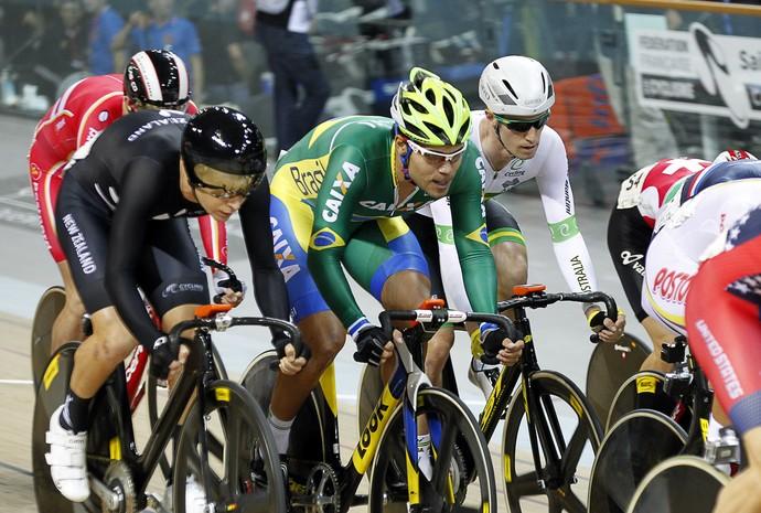 Gideoni Monteiro, ciclista, Mundial de ciclismo (Foto: Antonio Borga/CBC)
